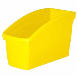 Plastic Book Tub Yellow 100W x 267D x 190H mm