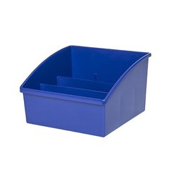 Plastic Reading Tub Dark Blue