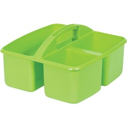 Small Plastic Caddy Lime