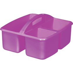 Small Plastic Caddy Purple