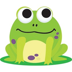 Magnetic Whiteboard Eraser - Frog