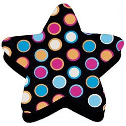 Magnetic Whiteboard Eraser - Star Dots