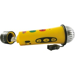 Easi-Speak Recording Microphone Yellow