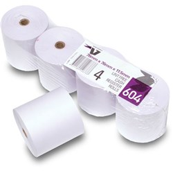 Receipt Printer Roll 76 x 76mm 1 Ply