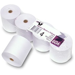 Receipt Printer Roll 76 x 76mm 2 Ply