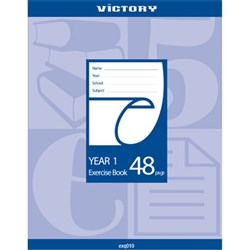 Victory Exercise Book Yr 1 48 pg