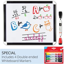 Faber-Castell Student Whiteboard with Marker