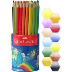 Faber-Castell Classic Colour Pencils in Storage Cup