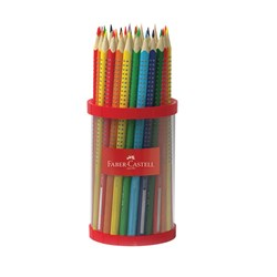 Faber-Castell Watercolour Grip Pencils in Storage Cup