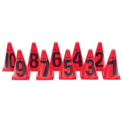HART Marking Cones Number Set (1-10)