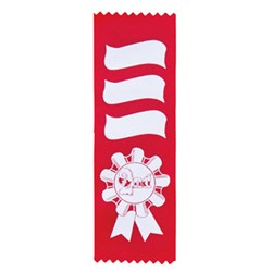Scroll Place Ribbon - Second Red