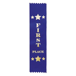 Star Place Ribbon - First Blue