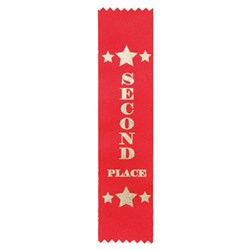 Star Place Ribbon - Second Red