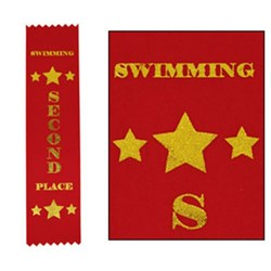 Swimming Ribbons 2nd Place