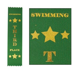 Swimming Ribbons 3rd Place