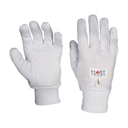 HART Cotton Inner Gloves Medium Pair