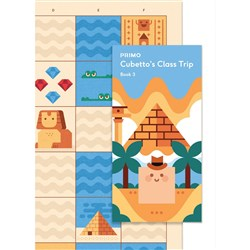 Primo Toys Cubetto Map and Story Book - Ancient Egypt