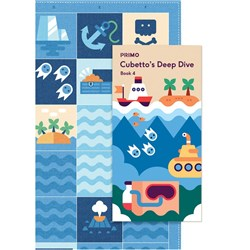 Primo Toys Cubetto Map and Story Book - Ocean