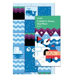 Primo Toys Cubetto Map and Story Book - Polar Expedition