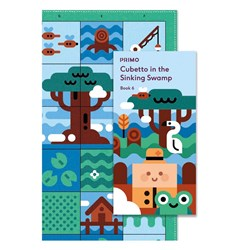 Primo Toys Cubetto Map and Story Book - Swarmy Swamp