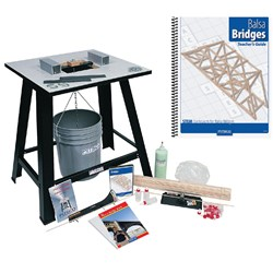 Pitsco Balsa Bridges Classroom Kit