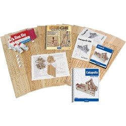 Pitsco Catapults Classroom Kit