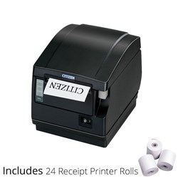 Citizen CTS651II Thermal Receipt Printer Ethernet+Rolls