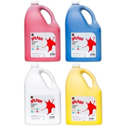 Splash Classroom Acrylic Paint 5 Litre Pack