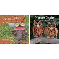 Nature Craft for Aussie Kids & with Common Plants Pack