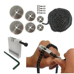 TETRIX MAX Sprocket, Chain & Chain Breaker Kit