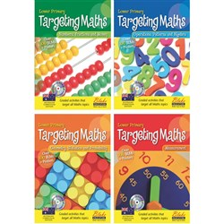 Targeting Maths AC BLM Lower Primary Set 4 Books