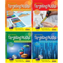Targeting Maths AC BLM Upper Primary Set 4 Books