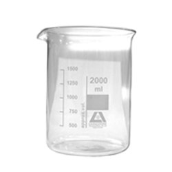 Livingstone Glass Beaker Low Form 2000ml