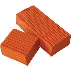 Modelling Clay 500g Orange