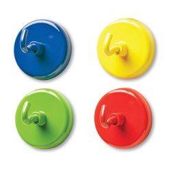 Magnetic Hooks Asst Colours