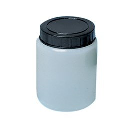 Aptaca Plastic Cylindrical or Specimen Jar with Screw Cap