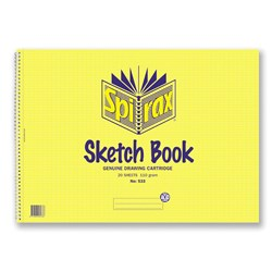 Spirax 533 Sketch Book A3 110gsm 40 pg