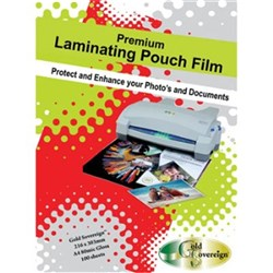 Laminating Pouch A4 80 micron Gloss 50 PET