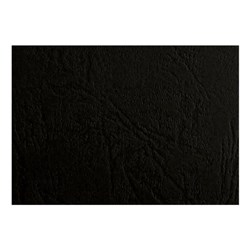 Binding Covers A4 Leather Grain 250gsm Black