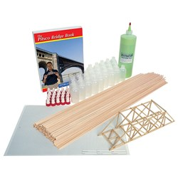 Pitsco Balsa Bridges Class Pack - Bridgepak