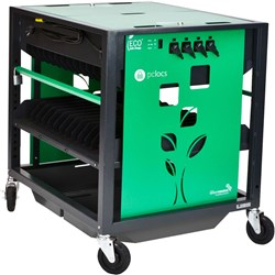 Revolution ECO Laptop Trolley 28 Bay Green + Free Shipping