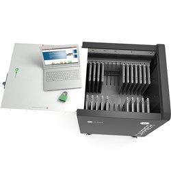 Carrier 30 Cart Device Rack - 15 Slots