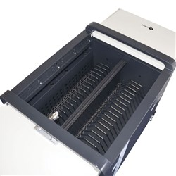 Carrier 30 Cart Stainless Steel Device Rack - 13 Slots