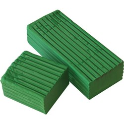 Modelling Clay 500g Block Light Green