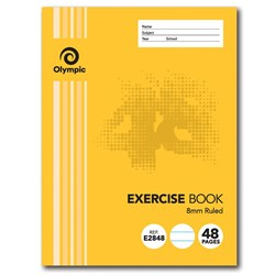 Olympic Exercise Book 8mm 48 pg