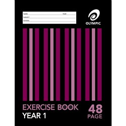Olympic Exercise Book Special Ruling Yr 1 24mm 48 pg