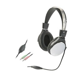 Headphones with Inline Mic and Volume Control