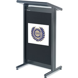 Standard Logo for Dress Panel to suit Lectern All Models