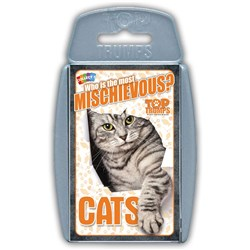 Top Trumps Card Game - Cats
