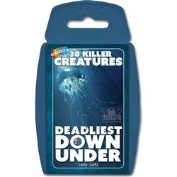 Top Trumps Card Game - Deadliest Down Under